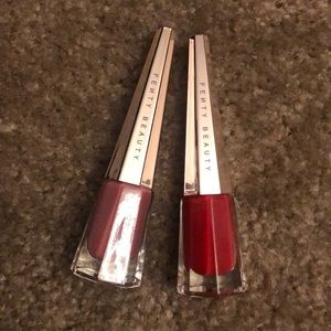 Both Fenty Beauty Lip Paint